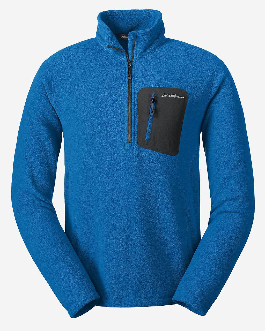 Кофта Eddie Bauer Mens Cloud Layer Pro Fleece Pullover ASCENT BLUE