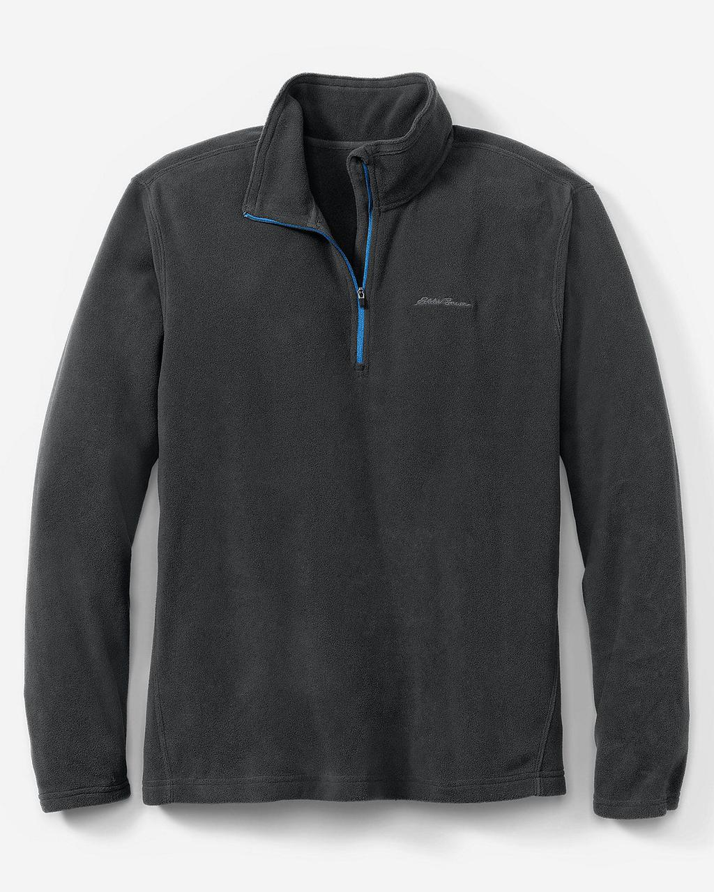 Кофта Eddie Bauer Mens Quest 150 Fleece Pullover BLACK