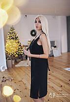 Платье на бретелях с V-образным вырезом, фото 3