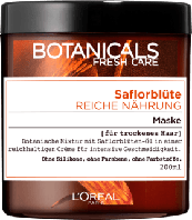 Питательная маска для сухих волос L'Oréal Botanicals Fresh Care Saflorblüte Reiche Nährung, 200 ml.