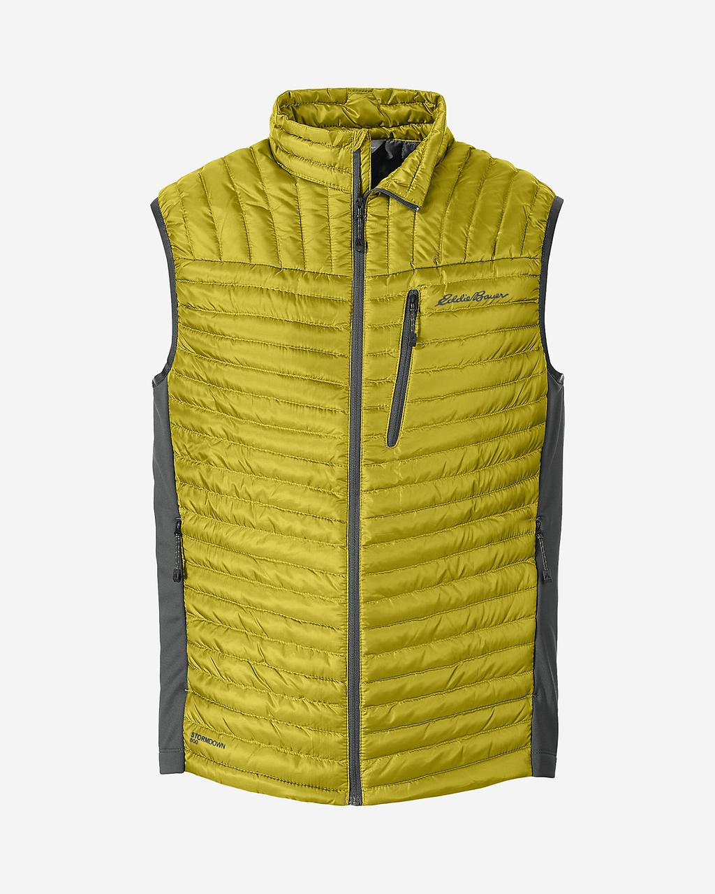 Жилетка Eddie Bauer Men MicroTherm StormDown YELLOW