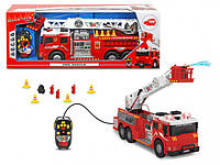 Пожарная машина на ДУ Dickie Toys со звуковыми, световыми эффектами, 62 см. (3719001)