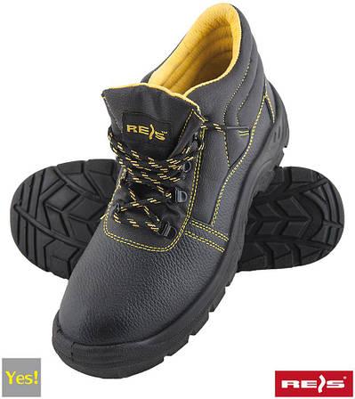 Рабочие ботинки без метноска REIS (RAW POL) Польша (спецобувь) BRYES-T-OB