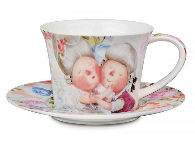 """Lefard Чайный набор (сервиз) """"Моя любовь"""" 2пр.  924-081, фото 2"""