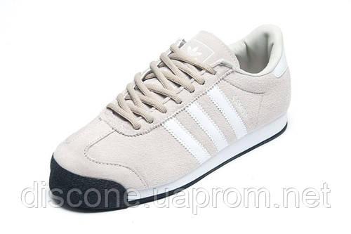 Кроссовки Adidas Samoa мужские, бежевые, р. 41 42 43 44 45