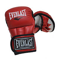 Перчатки для рукопашного боя и ММА(р-р S-XL,красный,синий,черный)