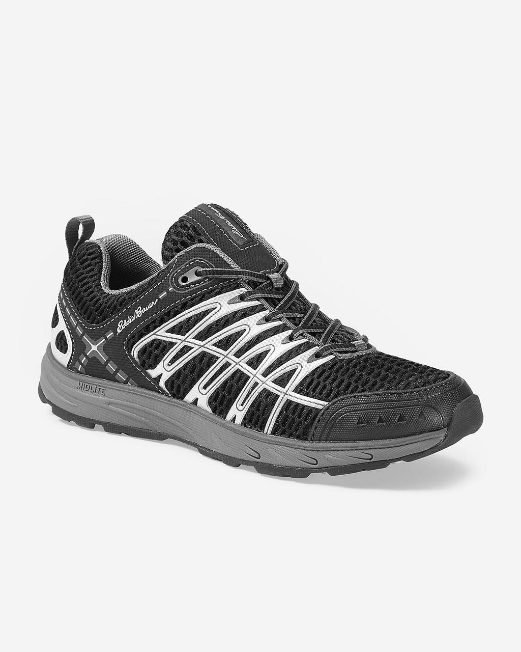 Кроссовки Eddie Bauer Womens Highline Trail BLACK