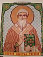 Набор для вышивки бисером ArtWork икона Святой Апостол Тарасий VIA 5107, фото 2