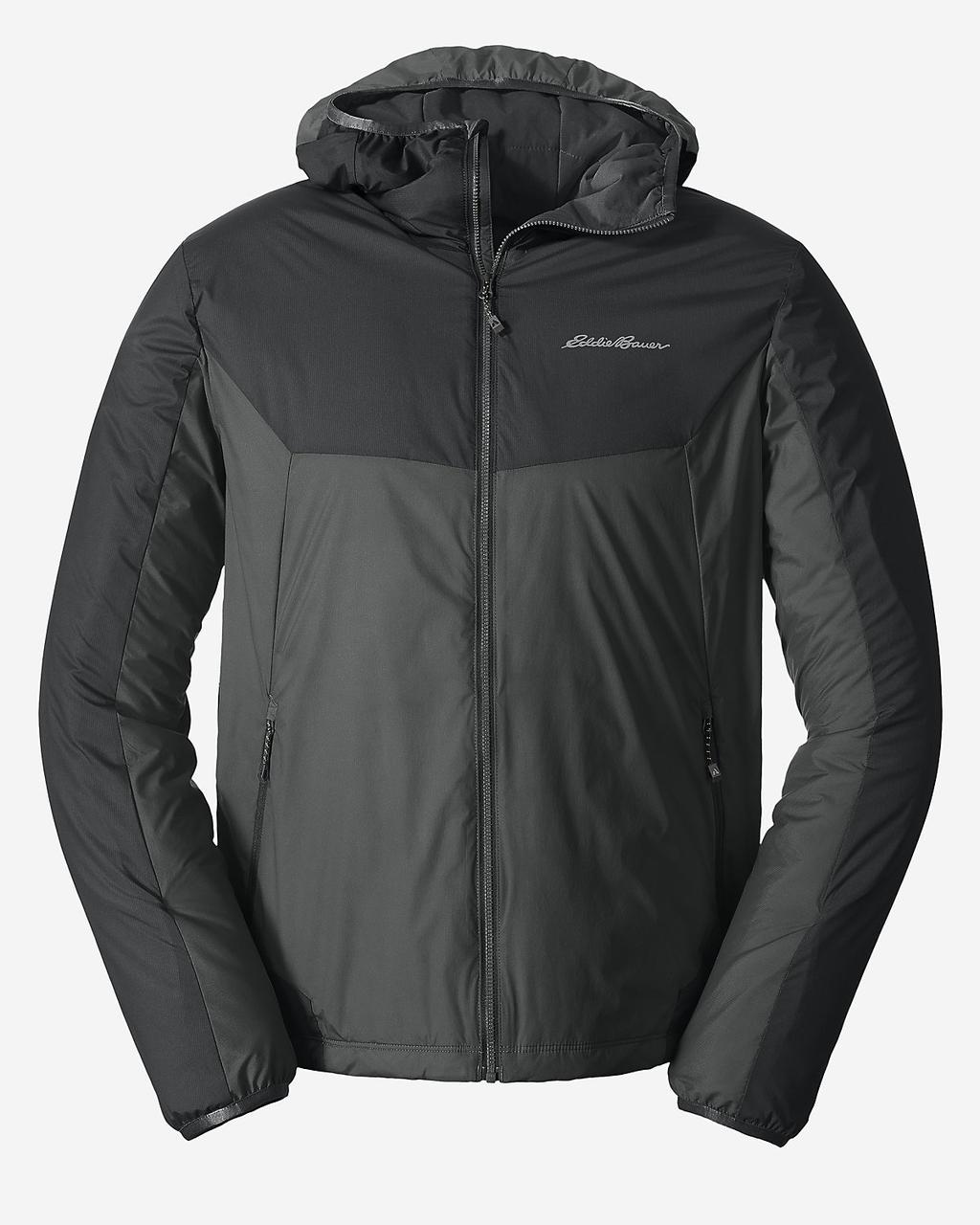 Куртка Eddie Bauer Mens IgniteLite Flux 60 Hooded DK SMOKE