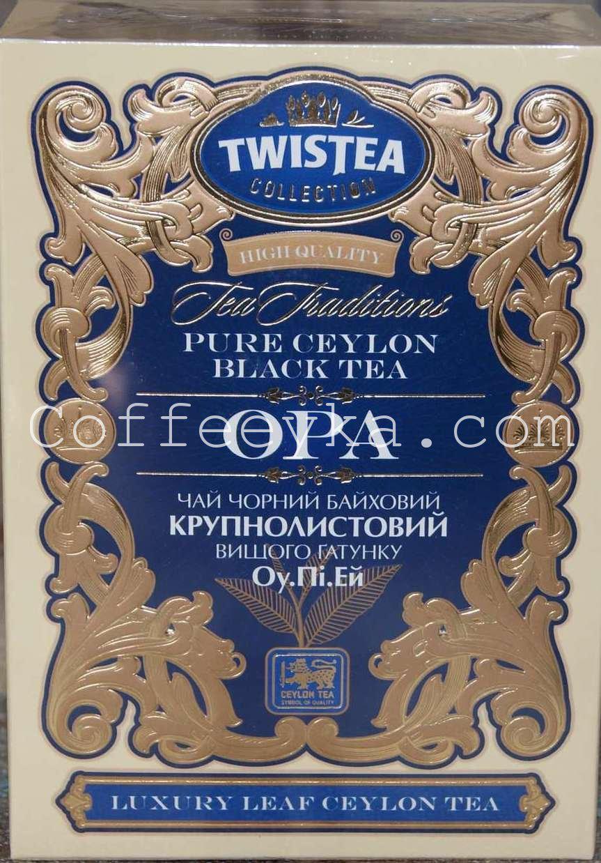 Чай чёрный  Twistea Tea Traditions Opa 100 гр