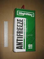 Антифриз HighWay ANTIFREEZE-40 LONG LIFE G11 (зеленый) 5кг 10002