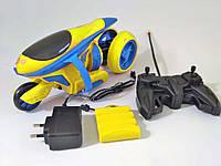 Игрушка на радиоуправлении Мотоцикл желтый JT TOYS JT293