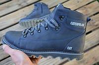 Чоловічі зимові черевики шкіряні гарної якості CAT