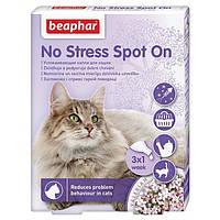 Beaphar No Stress Spot On успокоительные капли от стресса и плохого поведения для котов