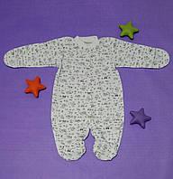 Человечек Комбинезон Слип Для Новорожденного Ребенка 1 - 3 мес