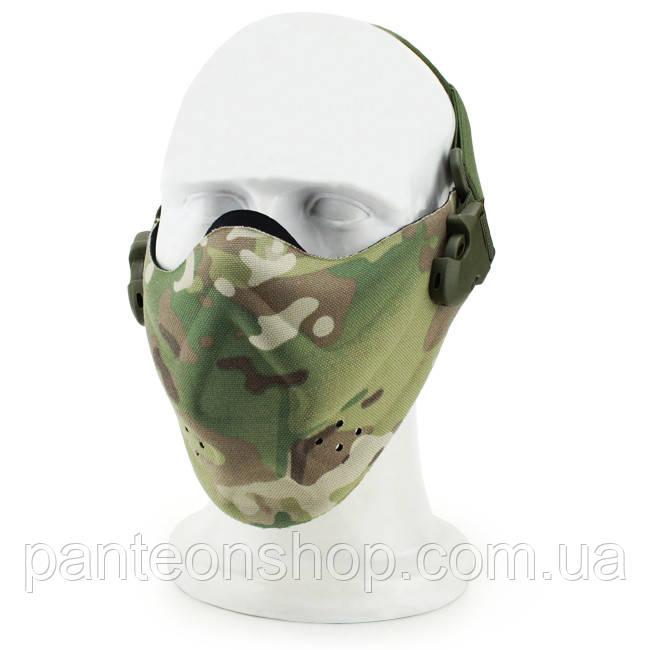 Маска на нижню частину обличчя V6 Multicam