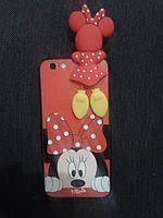 Силикон Disney Minnie Mouse for iPhone 5/5S/SE, фото 1
