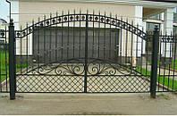 Ворота распашные-1