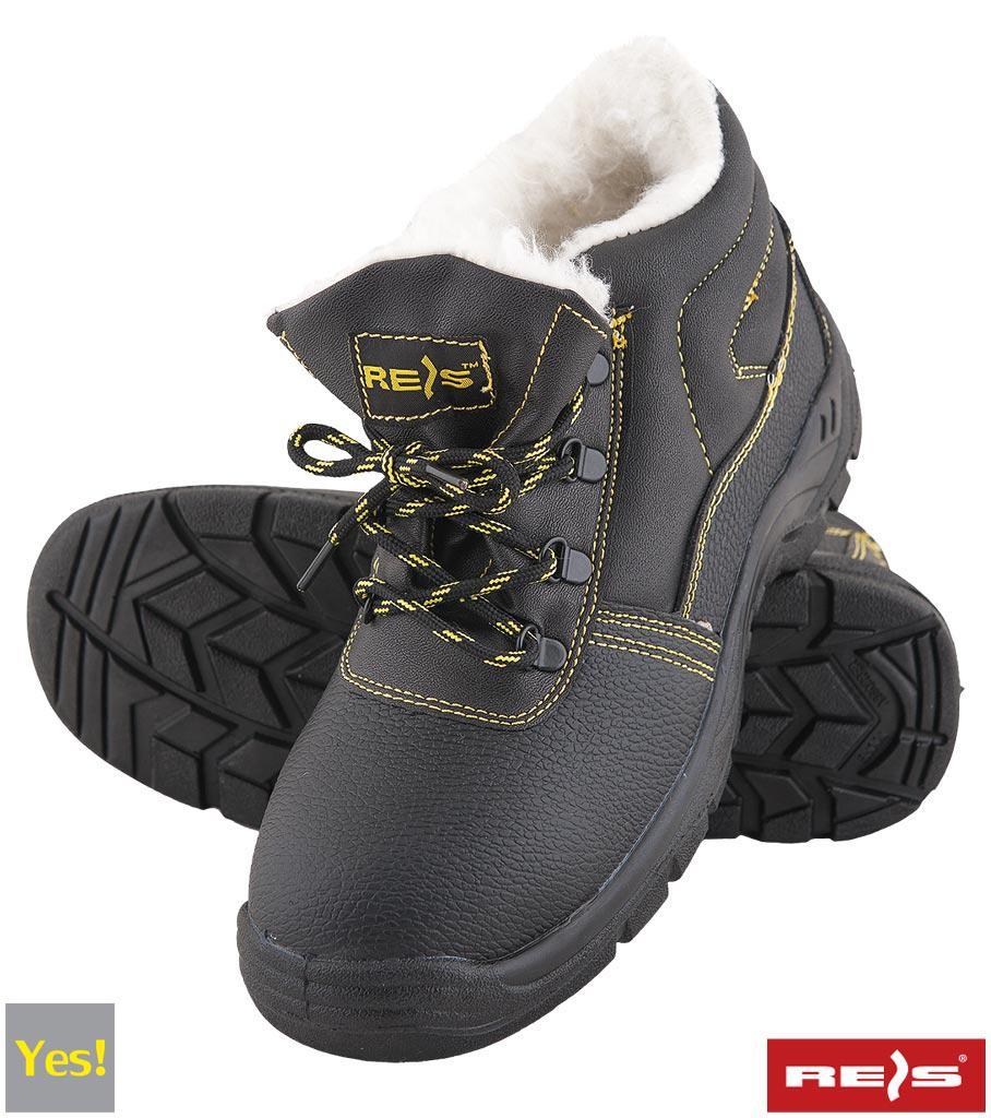 Ботинки зимные рабочие с металлическим подноском REIS RAW POL Польша (спецобувь утепленная) BRYES-TO-SB