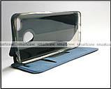 Синий современный чехол книжка Xiaomi Redmi 4X Mofi Vintage Classical эко кожаный dark blue, фото 5