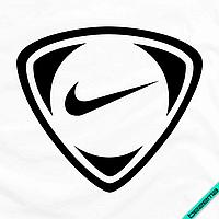 Дизайн на парео логотип Nike [7 размеров в ассортименте] (Тип материала Матовый)