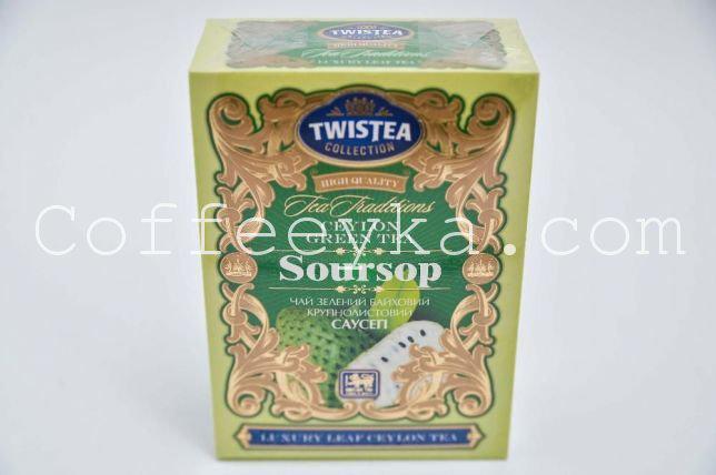 Чай зелёный Twistea  Soursop Саусеп 100 гр