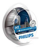 Philips Diamond Vision H1 12V 55W 5000K 12258DV  (2шт)