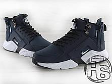 Мужские кроссовки Nike Air Huarache x ACRONYM City MID LEA Blue/White 856787-401, фото 3