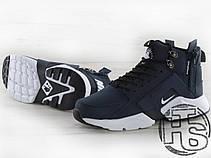 Мужские кроссовки Nike Air Huarache x ACRONYM City MID LEA Blue/White 856787-401, фото 2