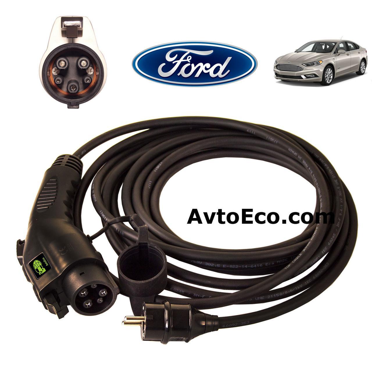 Зарядное устройство для электромобиля Ford Fusion Energi AutoEco J1772-16A, фото 1