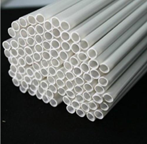 Пластиковый профиль Ø 2.0 мм. Труба, длина 250 мм. 1 шт.