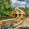 Стоительство срубов деревянных домов