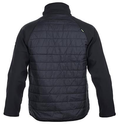 Демисезонная мужская куртка Hi-Tec Mender BLACK, фото 2