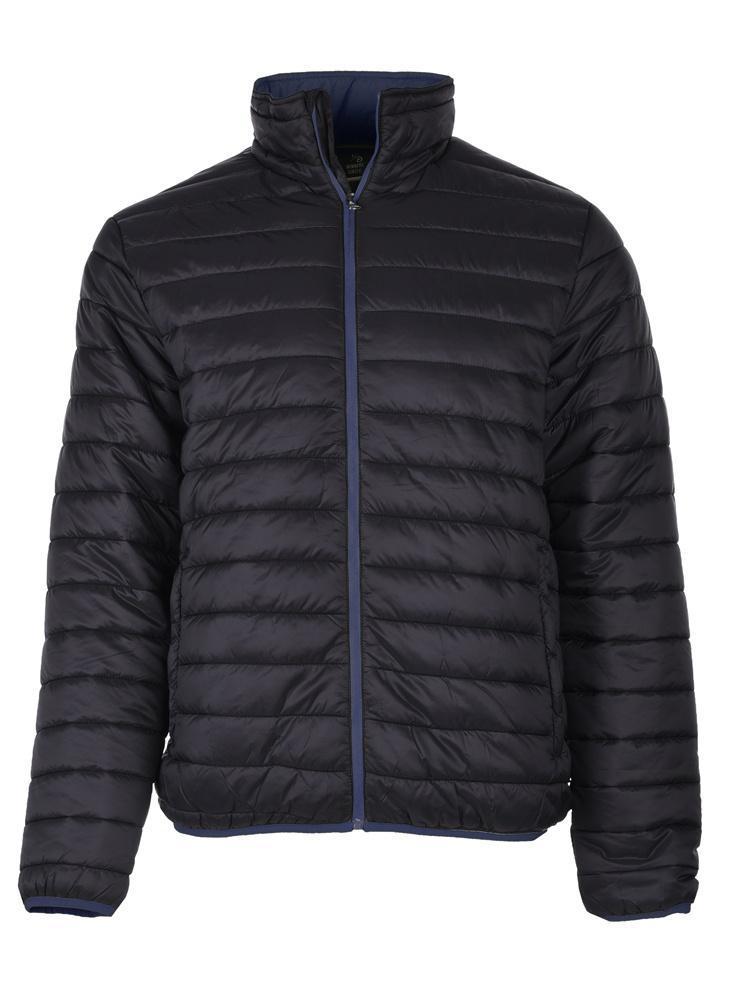 Демисезонная мужская куртка  Hi-Tec Molen Black/Blue
