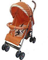 Коляска трость Everflo SK-166 (открытые колеса)  orange