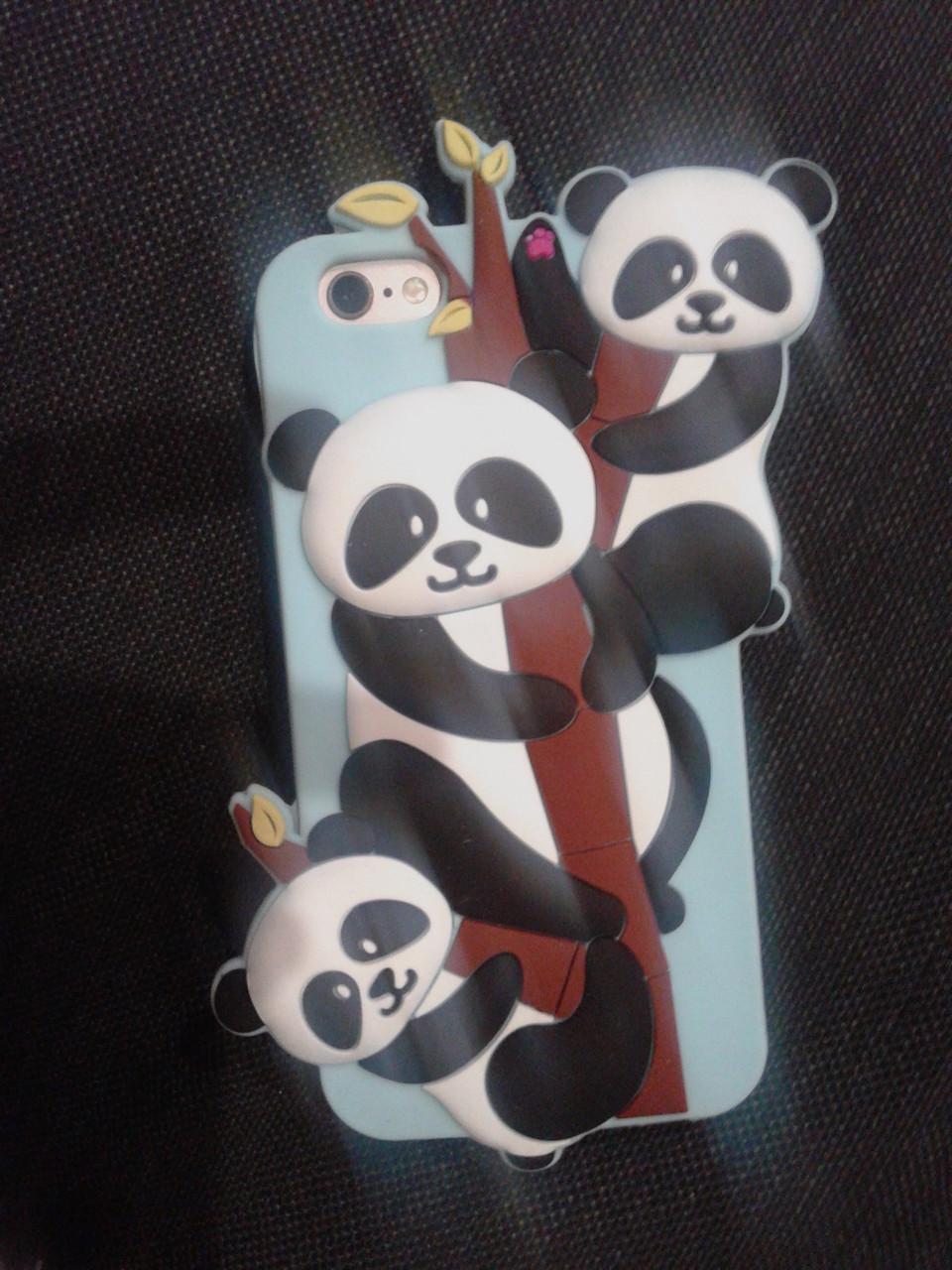 Силикон Disney Panda for iPhone 5/5S/SE