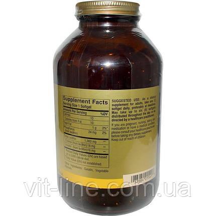 Solgar, Лецитин, 1360мг, 250 капсул, фото 2