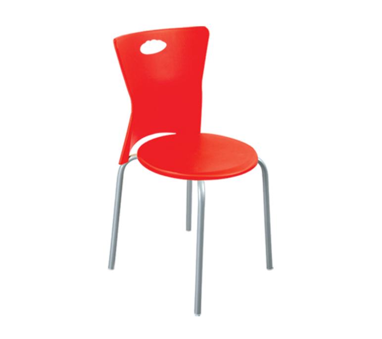"""Пластиковое кресло с алюмин. ножками """"Vega"""""""
