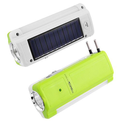 Фонарь LUXURY 1031 T, 1W+9SMD, солнечная батарея