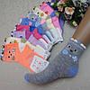 """Носки для девочек, 26/31 размер, """"Корона"""" . Детские  носки,  носочки для девочек"""