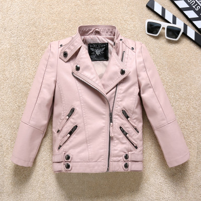 Куртка кожанка два кармана