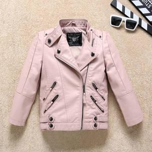 Куртка кожанка два кармана, фото 2