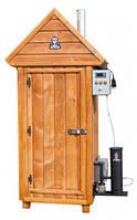 Коптильня холодного копчения деревянная + 2 кг щепы, фото 1