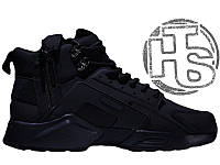 Мужские кроссовки Nike Air Huarache x ACRONYM City MID LEA Black 856787-009