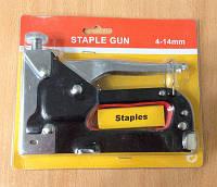 Степлер строительный Staple Gun 4-14 мм.