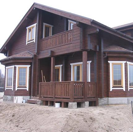 Строительство домов, коттеджей, из клееного бруса, фото 2