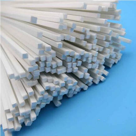 Пластиковый профиль 2 мм. Х 2 мм. Квадрат, длина 250 мм. 1 шт., фото 2