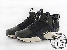 Мужские кроссовки Nike Air Huarache x ACRONYM City MID LEA Green/Black 856787-107, фото 2