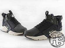 Мужские кроссовки Nike Air Huarache x ACRONYM City MID LEA Green/Black 856787-107, фото 3