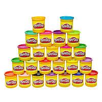 Play-Doh Набор пластилина 24 цвета коробка 2.05 кг 24-Pack, фото 1